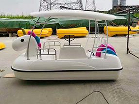 独角兽脚踏船(自排水)